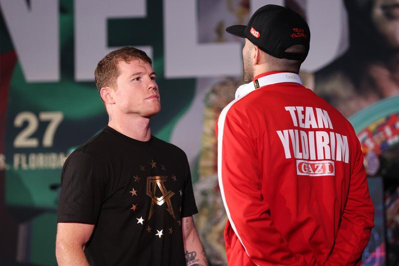 Boxing: Saul Alvarez and Avni Yildirim Media Day