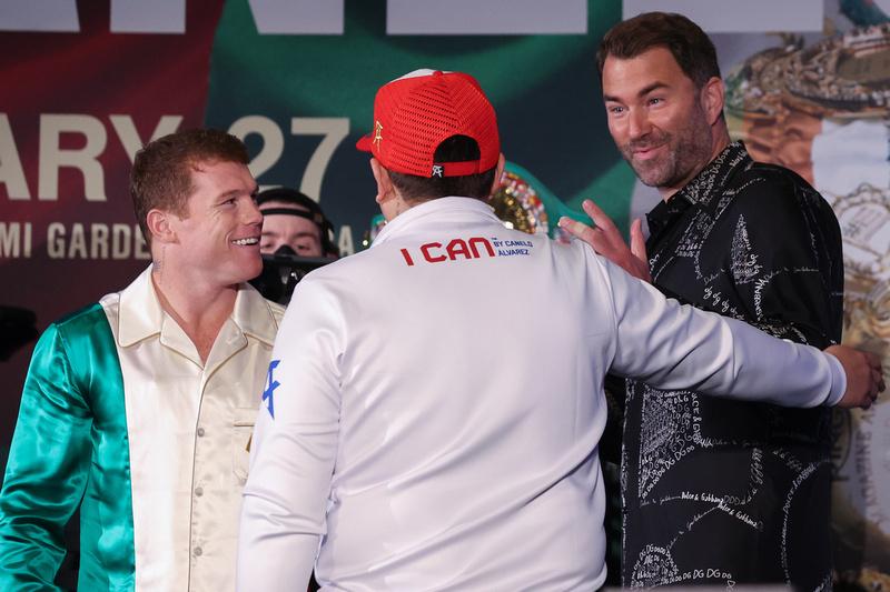 Boxing: Saul Alvarez and Avni Yildirim Weigh-In