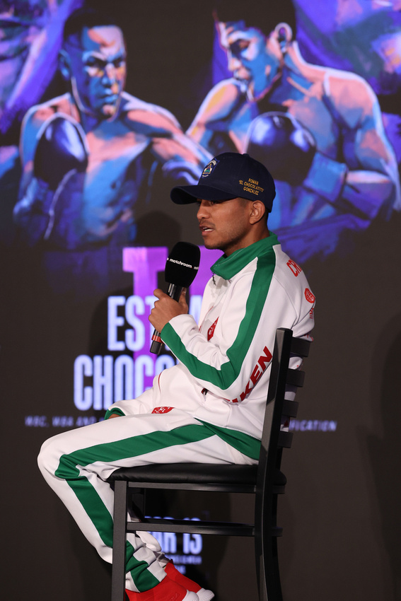 Boxing: Estrada and Gonzalez Final Press Conference Day