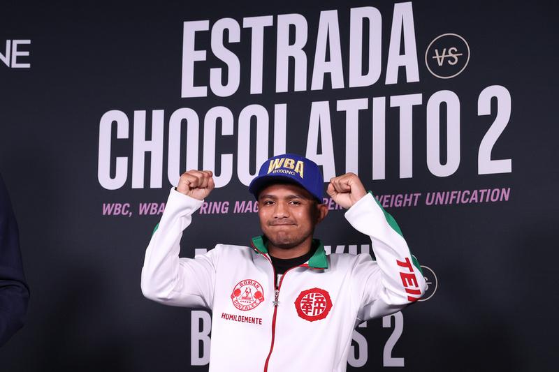 Boxing: Estrada and Gonzalez 2 Weigh-In