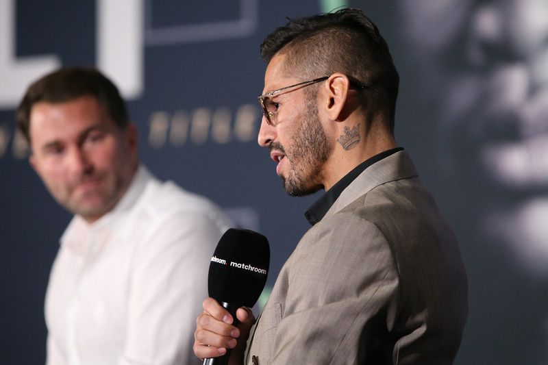 Boxing: Haney and Linares Final Press Conference