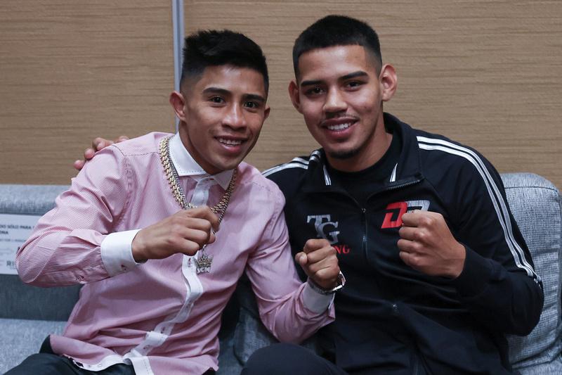 Boxing: Martinez and Cordova Press Conference