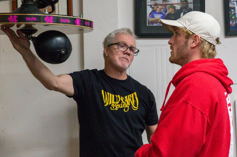 Boxing: Logan Paul Media Workout