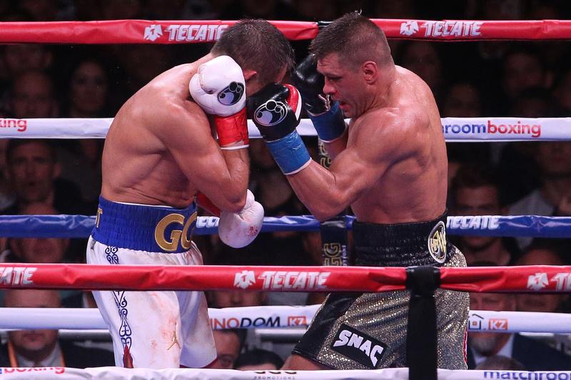 Boxing: Gennadiy Golovkin vs Sergiy Derevyanchenko