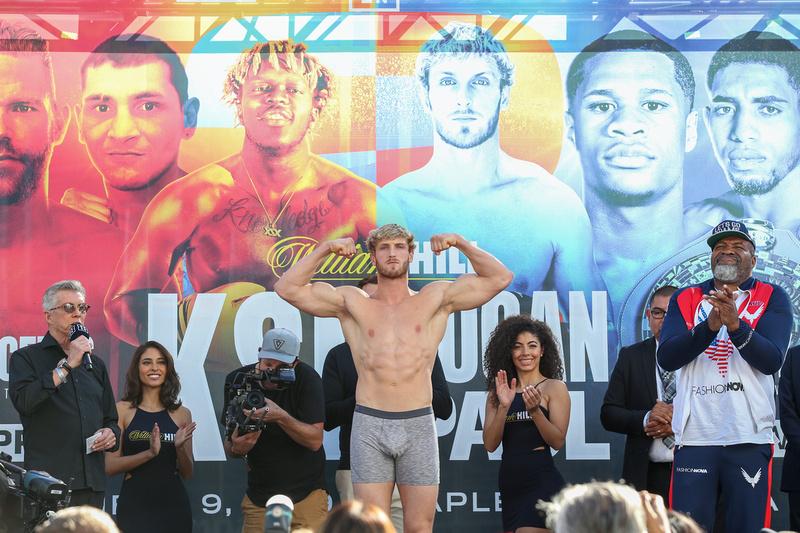 Boxing: KSI vs Logan Paul Weigh-In