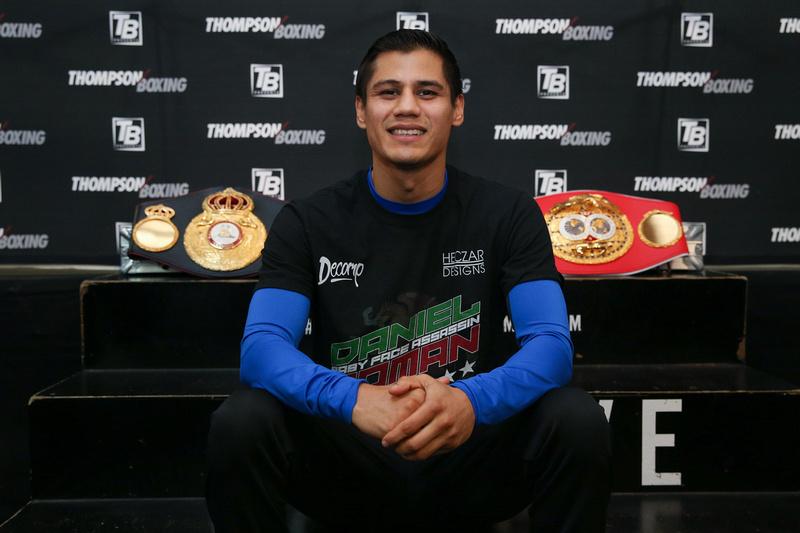 Boxing: Daniel Roman Media Workout