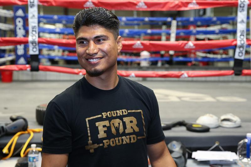 Boxing: Mikey Garcia Media Workout