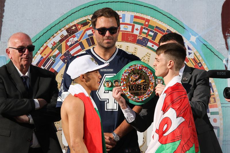 Boxing: Garcia vs Vargas Final Weigh-In