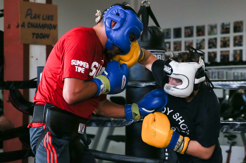 Body Shot Boxing Club Sparring Day