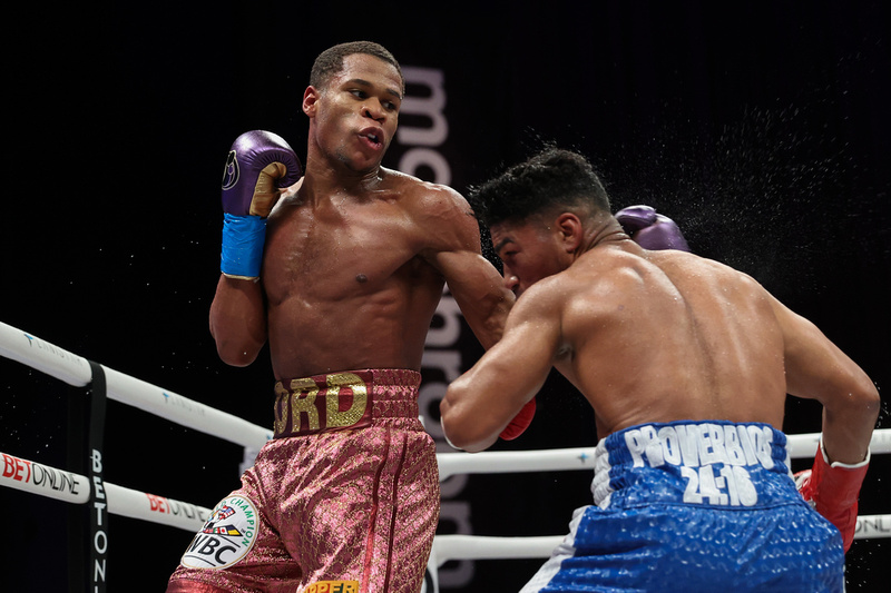 Haney vs Gamboa Fight Night