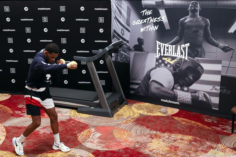 Boxing: Daniel Jacobs Workout
