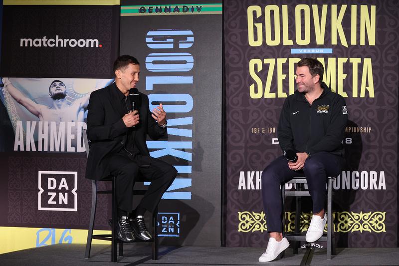 Boxing: Gennadiy Golovkin and Kamil Szeremeta Final Press Conference