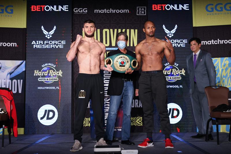 Boxing: Gennadiy Golovkin and Kamil Szeremeta Weigh-In